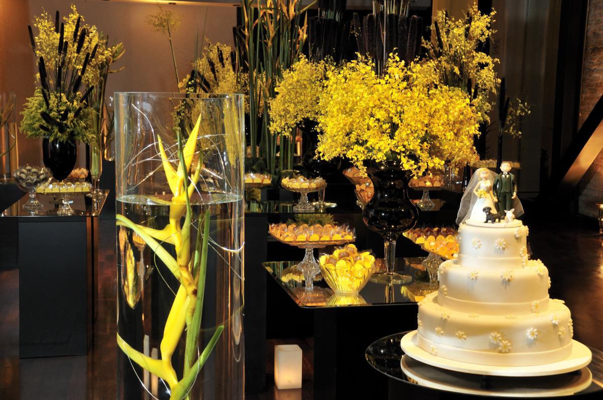 Decoração de Casamento Amarela  Blog Noivas do Rio de Janeiro