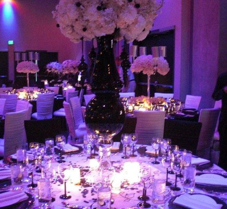decoração de Casamento lilás pode ficar deslumbrante também com