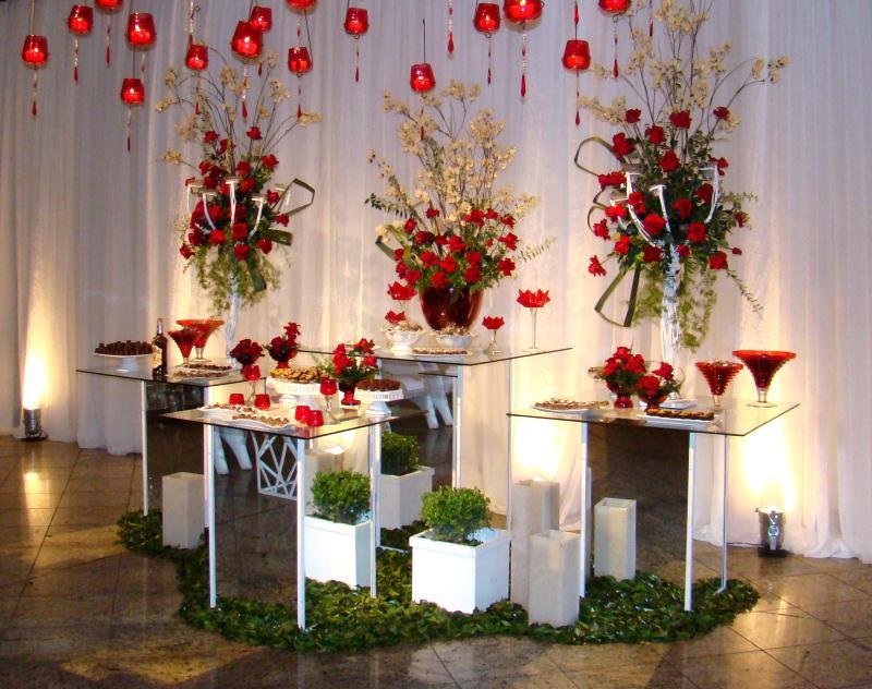 decoracao branca casamento:Decoracao-de-Casamento-Vermelho-e-Branco-3 – Noivas do Rio de Janeiro