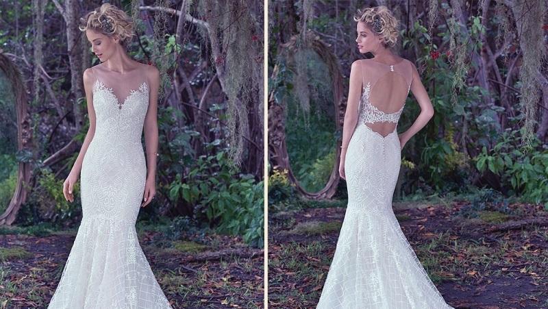 Vestido de Noiva Sereia com Renda
