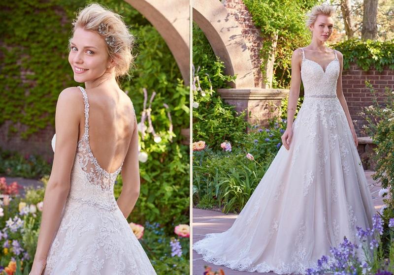 Vestido de casamento para dia de noiva