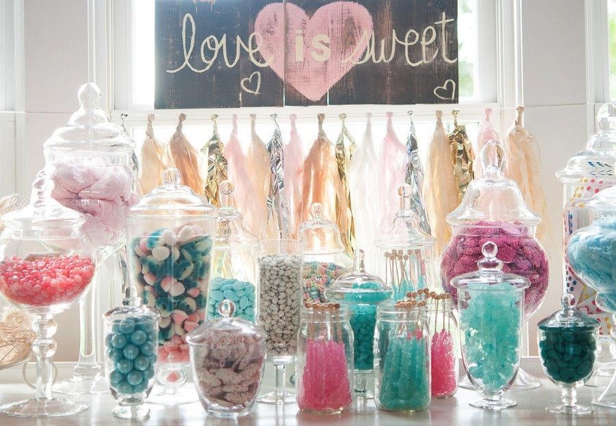 Candy color na decoração do Casamento
