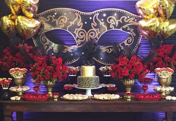 Decoração Temática de Carnaval para Casamentos