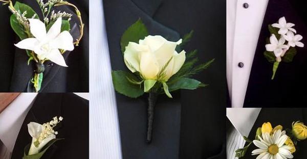 Flor na lapela para os noivos… Fuja do tradicional
