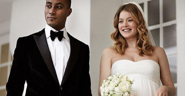 Vestidos para noivas gestantes