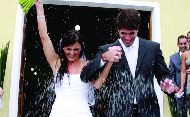 A nova Chuva-de-arroz para casamentos
