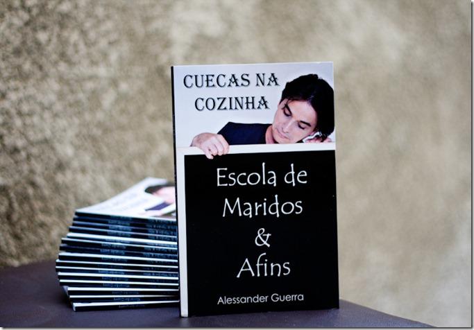 """Sorteio Livro """"Cuecas na Cozinha – Escola de Maridos & Afins"""""""