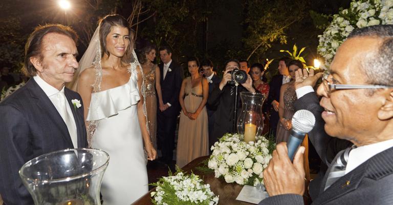 Casamento Emerson Fittipaldi e Rossana Fanucchi