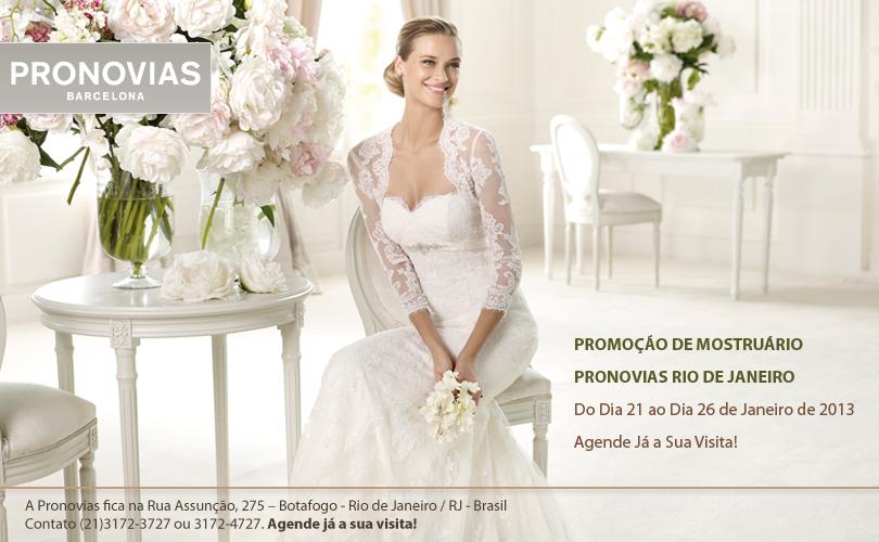 Super Promoção de Mostruário Vestidos de Noiva Pronovias RJ