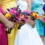 Cores na decoração de casamentos