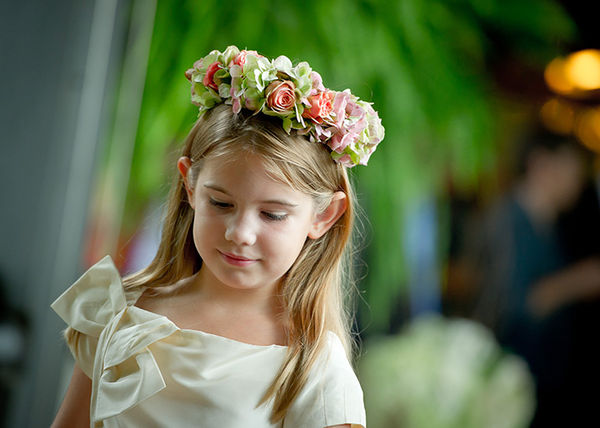 Daminhas de honra nos Casamentos