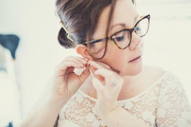 Noivas de Óculos? Claro que sim!