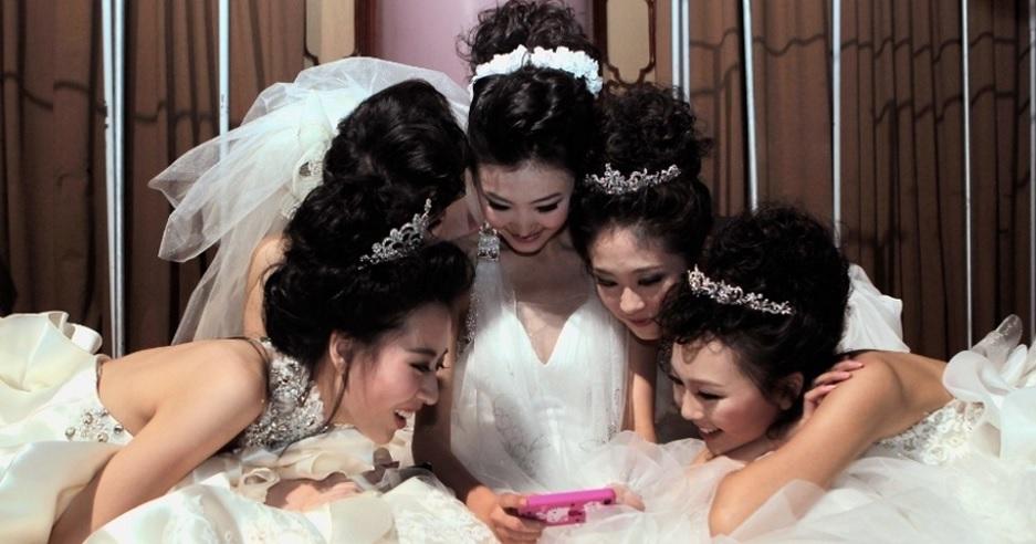 Os aliados tecnológicos da noiva