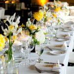 O Amarelo na Decoração de Casamento