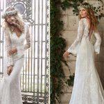 Vestidos de noiva com mangas longas