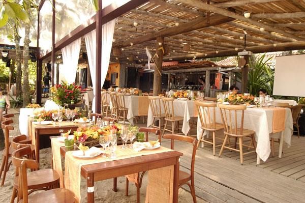 Festa do Casamento em Restaurante