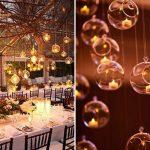 Velas na decoração de casamento