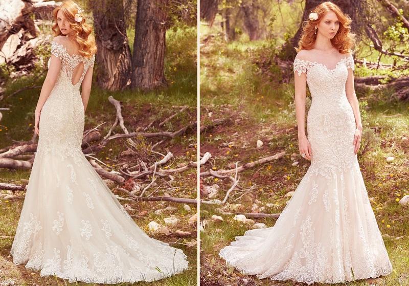 b6e0601f49 Frequentemente eles aparecem nas costas do vestido de noiva