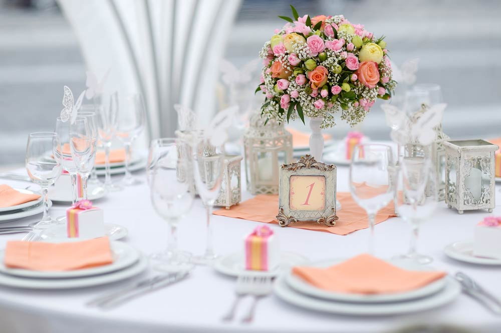 Inspiração para a mesa dos convidados