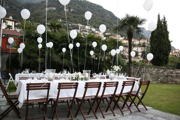 Resultado de imagem para decoração de casamento com balões