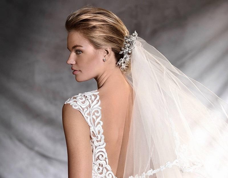 Vestido de noiva com bolso