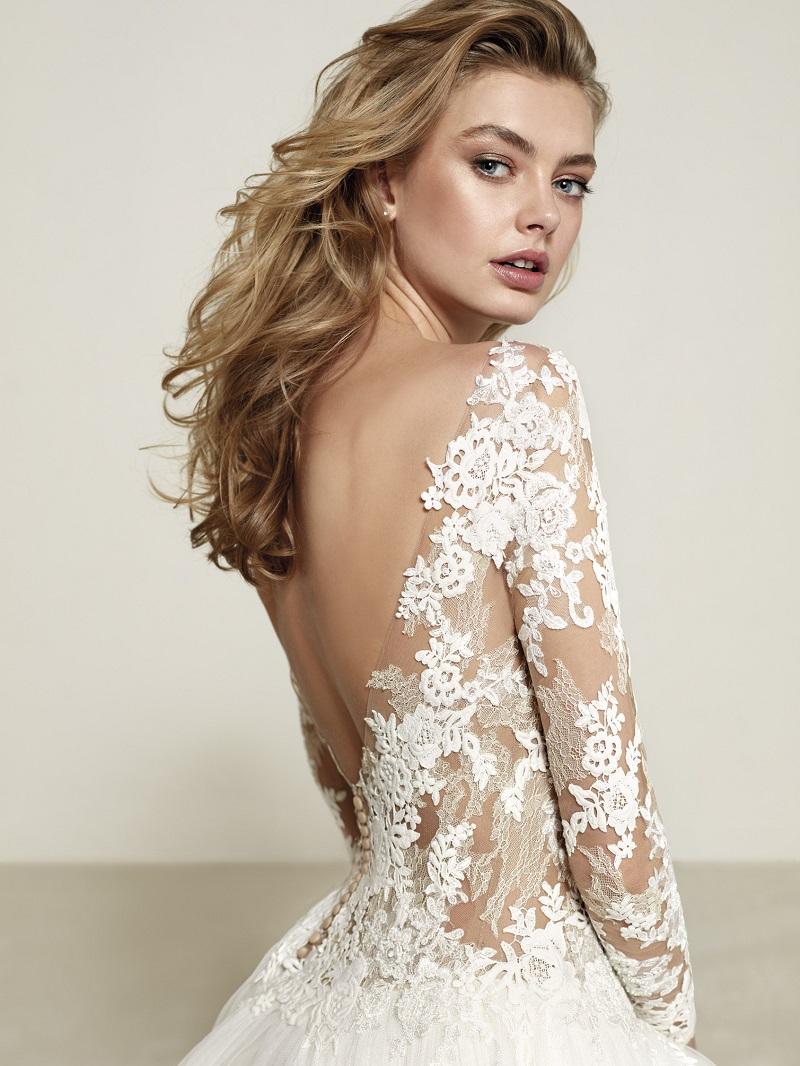 Vestido de noiva renda 2018