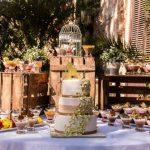 Decoração de casamento com Palletes