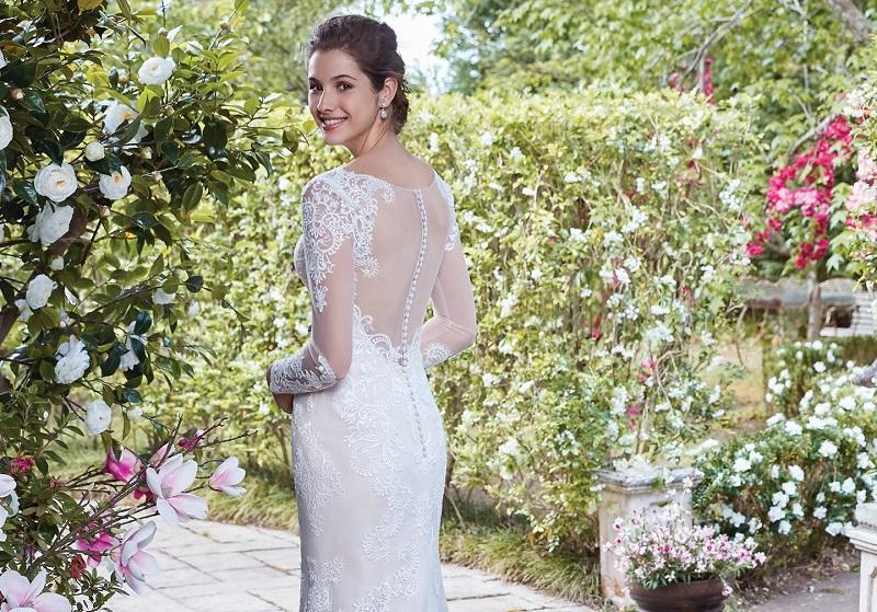 Vestidos de Noiva para casamento em casa