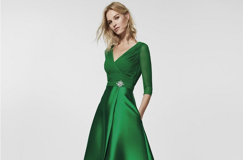 Vestidos verde esmeralda para niрів±as