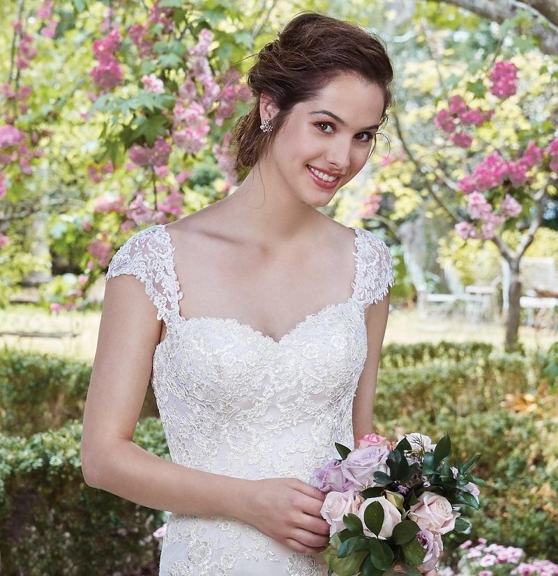 Vestidos de Noiva Simples e Elegantes Tendências 2018