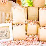 Pipoca no Menu do Casamento