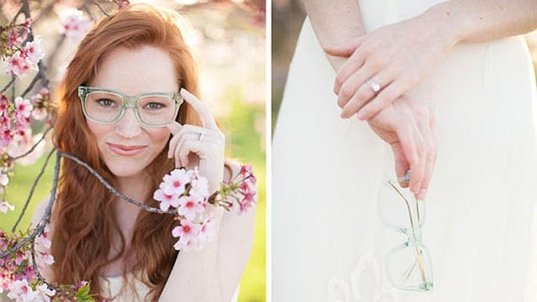 Dicas para as noivas que usam óculos