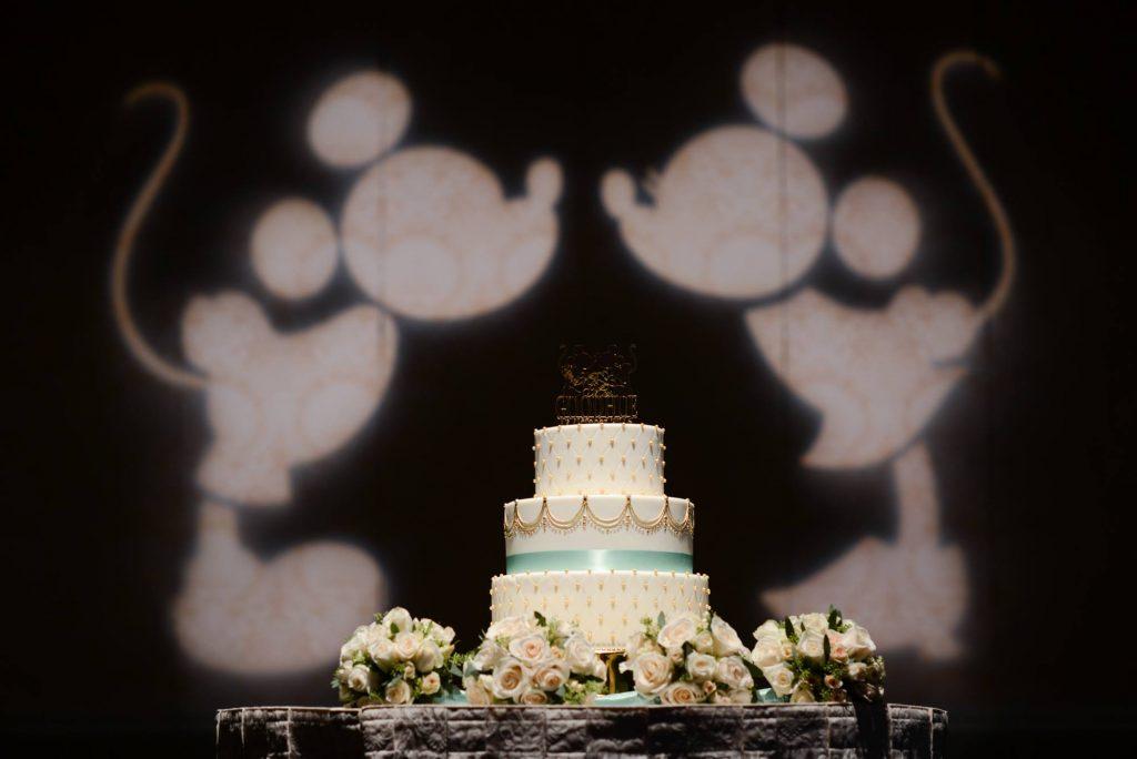 Mickey e Minnie na Decoração do Casamento