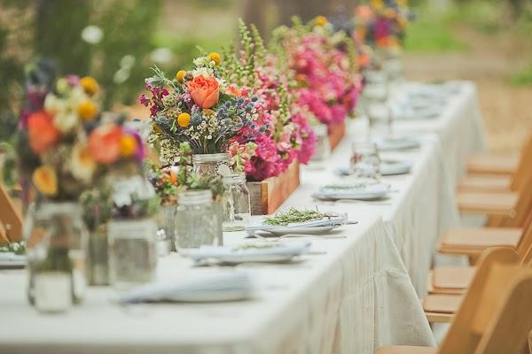 Decoração de casamento para o verão