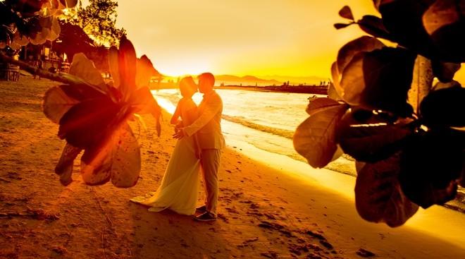 Casamento Estilo Luau