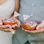 Donuts no menu do casamento